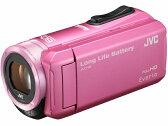 【新品/取寄品】ハイビジョンメモリームービー エブリオ GZ-F100-P ピンク