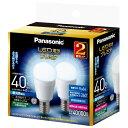 【新品/在庫あり】パナソニック LED電球 2個セット LDA4DGE17Z40ESW2T [E17口金/昼白色/一般電球40W形相当]
