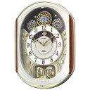 【新品/取寄品】【通販限定】セイコー 電波掛け時計(電波からくり時計) ウェーブシンフォニー RE562H