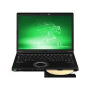 【新品/在庫あり】Let's note SV8 CF-SV8LDUQR (i7、ブラック、SSD256、スーパーマルチドライブ、Office2019搭載モデル)