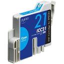 【新品/取寄品/代引不可】汎用インク PLE-E21C(エプソンICC21シリーズ互換インクシアン) PLE-E21C