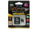 【新品/取寄品】MicroSDHC 8GB Class10 TG008G0MC28A