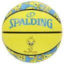 【新品/取寄品】バスケットボール TWEETY(トゥィーティ) 6号球 83-666J