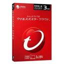 【新品/在庫あり】ウイルスバスター クラウド 3年版 3台 同時購入版