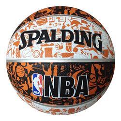【新品/在庫あり】バスケットボール グラフィティ オレンジ 5号球 83-360J