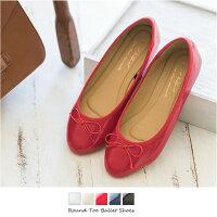 送料無料 定番 リボン付き バレエシューズ フラットシューズ 黒 ヒール フラットヒール 大きいサイズ パンプス 痛くない レディース ローヒール|バレエ シューズ 走れる 歩きやすい フラット ぺたんこ 赤 ゴールド 歩きやすい靴 ローヒール ペタンコ 靴
