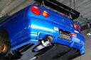 パワーハウス アミューズ R1チタン R1000 日産 ニッサン スカイライン GT-R BNR32/BNR33/BNR34用 【マフラー】power house amuse R1 TITAN【車関連の送付先指定で送料無料】