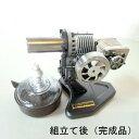 スターリングエンジン(発電機付組立キット)[発電機付き][カラー:ブラック][タイプ:発電機付組立キ