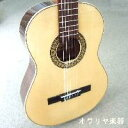 ショートスケールクラシックギター 小型ギター610mm ハードケースセット スペイン製 ドイツ松単板
