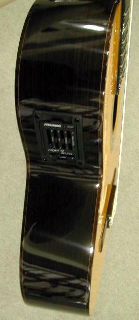 音が生きている!エレガットギター スペイン名工Manuel Fernandez 【生音OK! アンプOK!】アンプを通しても音が死なない