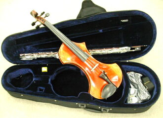 Amp OK! Student sound OK! Electric violin ( case & bow set )