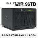 【国内正規品】 OWC ThunderBay 8 (OWC サンダーベイ 8)3.5/2.5インチドライブ8ベイ / Thunderbolt 3 ×2ポート / DisplayPort 1.2 / 外付けドライブケース/RAID 0、1、4、5、10 (96TB Enterprise HDD SoftRAID XT 付属)