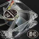 80mm 8cm FAN 超静音タイプ リブ無し PCケース用LEDイルミネーションファン エメラルドグリーン レッド スカイブルー ホワイト 1年保証..