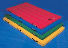 Dunno ( DANNO) color gymnastics mat (with anti-slip ) 90 x 240 yellow
