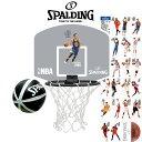 SPALDING (スポルディング) マイクロミニバックボード 選手シール付 NBA 77-644Z【TEAM BASKETBALLS】