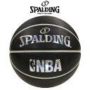 【SPALDING】 スポルディング ホログラムラバー バスケットボール(NBA公認) 7号球(男子一般用)屋外用 83-660J