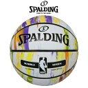【SPALDING】 スポルディング マーブルコレクション マーブルオータム バスケットボール(NBA公認) 7号球(男子一般用)屋外用 83-809J