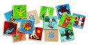 フランス DJECOジェコ パズル・ゲーム知育輸入おもちゃ ゲオルグ・ハレンスレーベンのファーストパズルメモ フレンズ (木製パズル)