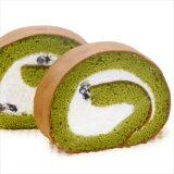 抹茶蛋糕是由滚揉面团今天糯米粉制成的越光与富山蛋糕。诚Yone 辊(绿茶)(北海道冲绳岛额外运费500日元)[smtb,传统知识;[富山純米ロールケーキ(抹茶)【楽ギフメッセ入力】]