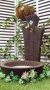 立水栓 水栓柱 立水栓セット空へと広がる立水栓『三連カスガイ』&シンクセット