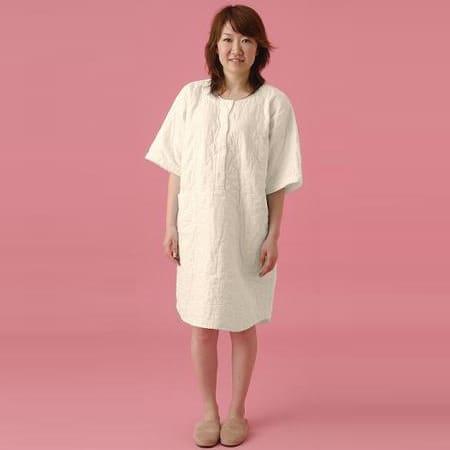 パジャマ レディース パシーマ ネグリジェL (かぶりタイプで涼しいパジャマ) 着丈110×裾回132センチ