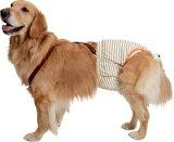 介護が必要なワンちゃんのおもらしや、術後の一時的な尿もれなどにPETIO おむつパンツ(尻尾穴サイズ調節機能付)<大型犬用>:3Lサイズ【あす楽対応】