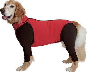ダブルフルドッグガード:1XLサイズ【大型犬用アウトドアウェア】 背中ファスナーで着させやすく、そしてあったか。フルドッグガードの進化系