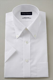 偉大的短袖襯衫短袖 Y 襯衫短袖襯衫形式穩定形狀記憶按鈕顏色襯衫免燙大小在日本國內男子