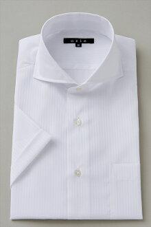 短袖襯衫短袖 Y 襯衫短袖襯衫 CoolMax 臥式混色襯衫緊身剖白色大尺寸男裝繽紛其他襯衫