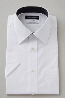 短袖襯衫短袖 Y 襯衫短袖襯衫形式穩定的廣彩襯衫禮服襯衫定期適合你白色的平原大尺寸男裝襯衫