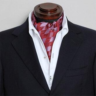 阿斯科特領帶絲綢 100%亞皆老街酒紅色紅酒婚禮駿景領帶結錄影和 OZIE
