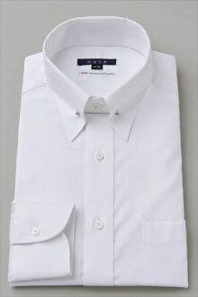 固體模式禮服襯衫長袖襯衫 100 雙紗平原針孔彩色牛津襯衫襯衫商務襯衫長袖襯衫 OZIE 襯衫禮服襯衫