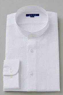 100%麻站領襯衫禮服襯衫長袖襯衫長袖 t 恤