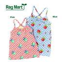 【セール/SALE】RAG MART(ラグマート)水着(ワンピース/ドット アップル)【80cm/90cm/95cm】【1765507b】【女の子】