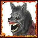 可動式マスク / 狼男 (Werewolf Ani-Motion Mask)  [動く マスク ワーウルフ ハロウィン 仮装 コスプレ]【_025732】【02P01Jun14】