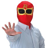 いつでもレンジャー(レッド) [戦隊ヒーロー レンジャーマスク 戦隊 ゴーバスターズ スーパー戦隊 戦隊マスク 戦隊コスプレ]【C-0121_012551】
