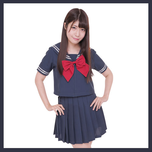 [イベント コスプレ] カラーセーラー 紺×紺...の紹介画像2
