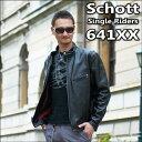 Schott SINGLERIDERS 641XX (ショット シングルライダース '60復刻版 No.7009)【送料無料】