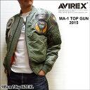 "AVIREX MA-1 ""TOPGUN 2016""(MA-1フライトジャケット トップガン)"