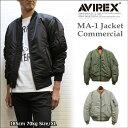AVIREX(アヴィレックス) MA-1ジャケットコマーシャル メンズフライトジャケット MA-1 COMMERCIAL
