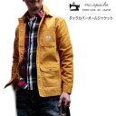 m.c APACHE(エムシーアパッシュ) ダックコットンカバーオールジャケット【送料無料】