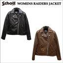 Schott/ショット レディース ラム革ダブルライダース ジャケット(WOMENS RAIDERS JACKET)