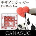【 正規販売店 】CANASUC ( カナスック ) キス カール シュガー / ホワイト・レッド 120gウィンドウボックス 入り Kiss Kuels Sugar【RCP】.
