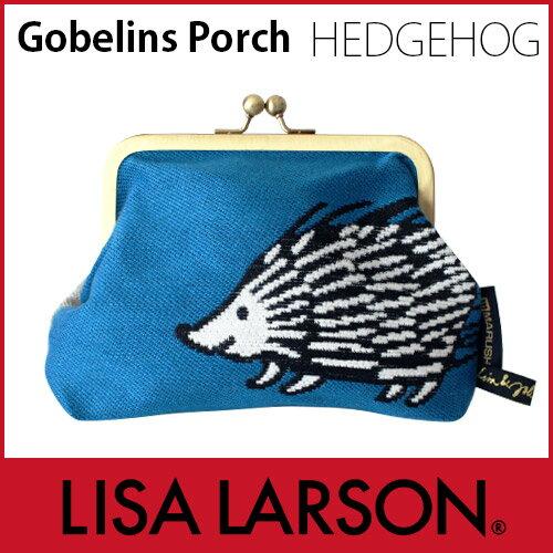 【 メール便 可 】 LISA LARSON ( リサ ラーソン ) 口金 ゴブラン織りポーチ ( がま口ポーチ ) / ルック ハリエット .