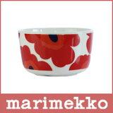 marimekko ( マリメッコ ) UNIKKO BOWL ボウル 250ml / ホワイト・レッド 【RCP】.