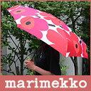 marimekko ( マリメッコ ) 傘 コンパクト 折りたたみ傘 (手動) PIENI UNIKKO ( ウニッコ 傘 )/ ホワイト・レッド 【smtb-ms】【あす楽対応_近畿】【HLS_DU