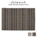 chilewich ( チルウィッチ ) ユーティリティマット Shag ( シャグ ) Skinny Stripe ( スキニー ストライプ ) 61×91cm / 全2色 【 正規..