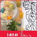【 送料無料 】 MIMI'lou ( ミミ・ルゥ ) ガーランド ライト 【RCP】.
