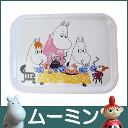 moomin ( ムーミン )Wood mini Tray ( ウッド ミニ トレイ ) / Moomin Tea Party ( ティーパーティー ).