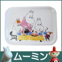 【 メール便 可 】 moomin ( ムーミン )Wood mini Tray ( ウッド ミニ トレイ ) / Moomin Tea Party ( ティーパーティー ).